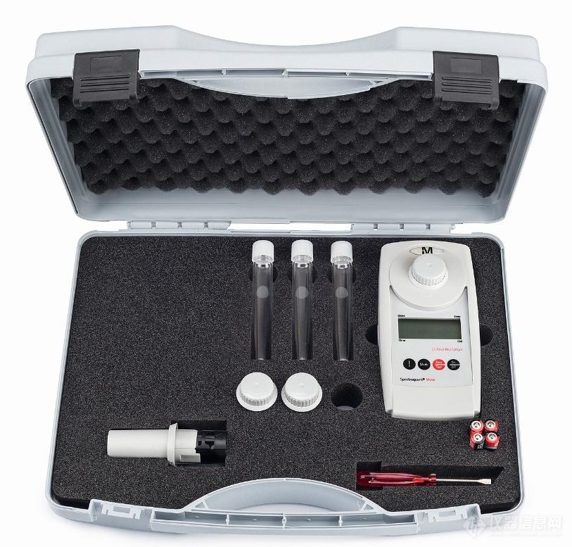 默克 Spectroquant® Move 手持式比色计-余氯测定仪